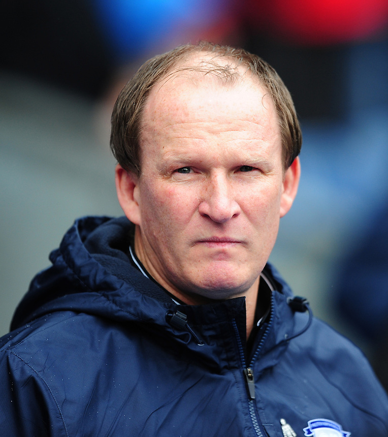 Preston North End manager Simon Grayson <br /> <br /> Photographer Chris Vaughan/CameraSport<br /> <br /> Football - The Football League Sky Bet Championship - Blackburn Rovers v Preston North End - Saturday 2nd April 2016 - Ewood Park - Blackburn<br /> <br /> &copy; CameraSport - 43 Linden Ave. Countesthorpe. Leicester. England. LE8 5PG - Tel: +44 (0) 116 277 4147 - admin@camerasport.com - www.camerasport.com