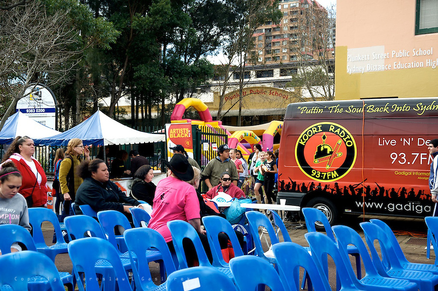 Woolloomooloo Family Day is a part of the annual National Aboriginal and Islander Day of Celebration (NAIDOC) and the Indigenous culture of Woolloomooloo community.