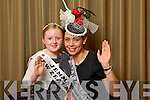 New Zealand Rose Judeena Carpenter pictured with her Rosebud Jemma Walsh at the Carlton Hotel at the Rose of Tralee on Friday.