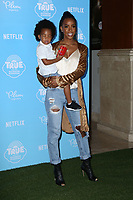 LOS ANGELES - AUG 10:  Titan Jewell Witherspoon, Kelly Rowland at the True and the Rainbow Kingdom Series LA Premiere at the Pacific Theater At The Grove on August 10, 2017 in Los Angeles, CA