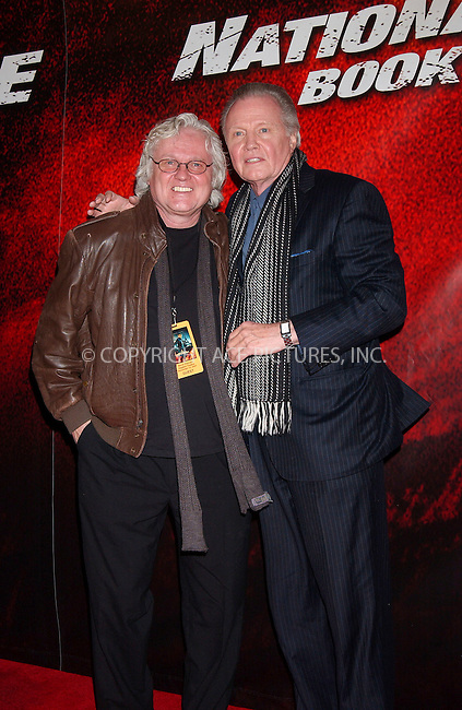 WWW.ACEPIXS.COM . . . . .....December 13, 2007 New York City.....Actor Jon Voight (right) and brother Chip Taylor arrive at the New York Premiere of 'National Treasure Book of Secrets' at the Ziegfeld Theatre...  ....Please byline: Kristin Callahan - ACEPIXS.COM..... *** ***..Ace Pictures, Inc:  ..Philip Vaughan (646) 769 0430..e-mail: info@acepixs.com..web: http://www.acepixs.com