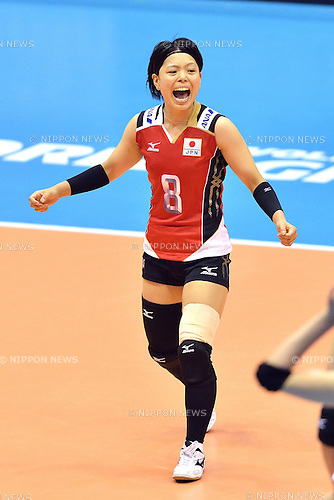 otoki Zayasu (JPN),<br /> AUGUST 17, 2013 - Volleyball :<br /> 2013 FIVB World Grand Prix, Preliminary Round Week 3 Pool M match Japan 1-3 United States at Sendai Gymnasium in Sendai, Miyagi, Japan. (Photo by Ryu Makino/AFLO)