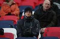 Burnley fan<br /> <br /> Photographer Rob Newell/CameraSport<br /> <br /> The Premier League - Tottenham Hotspur v Burnley - Saturday 15th December 2018 - Wembley Stadium - London<br /> <br /> World Copyright &copy; 2018 CameraSport. All rights reserved. 43 Linden Ave. Countesthorpe. Leicester. England. LE8 5PG - Tel: +44 (0) 116 277 4147 - admin@camerasport.com - www.camerasport.com