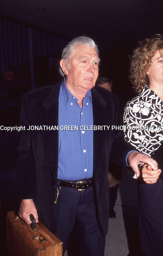 Andy Griffith 1996 NYC by Jonathan Green