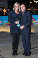 Kenny Jones &amp; Jayne Andrew at the opening night gala of The Rolling Stones' &quot;Exhibitionism&quot; at the Saatchi Gallery. <br /> April 4, 2016  London, UK<br /> Picture: James Smith / Featureflash