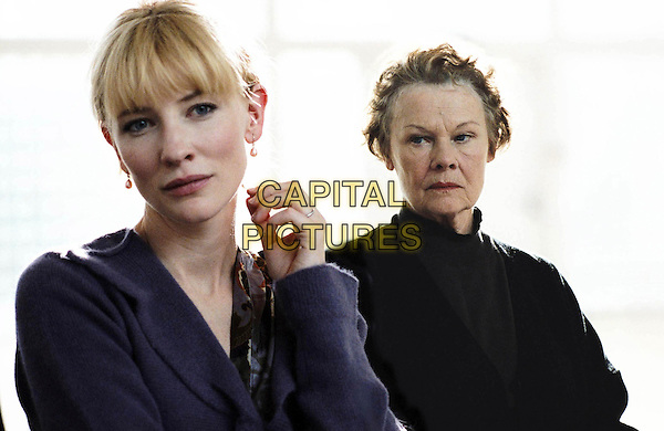 CATE BLANCHETT & JUDI DENCH.in Notes on a Scandal .**Editorial Use Only**.CAP/FB.Supplied by Capital Pictures