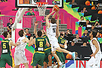07.09.2014. Barcelona, Spain. 2014 FIBA Basketball World Cup, round of 16. Picture show S. Jasaitis  in action during game between New Zealand   v  Lithuania at Palau St. Jordi