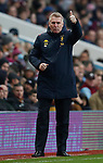 Aston Villa manager Dean Smith gestures during the Premier League match against Leicester City at Villa Park, Birmingham. Picture date: 8th December 2019. Picture credit should read: Darren Staples/Sportimage