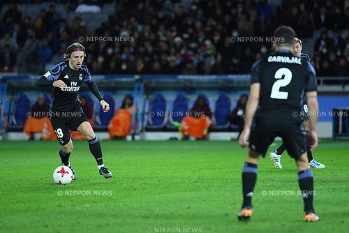 Luka Modric (Real), <br /> DECEMBER 15, 2016 - Football / Soccer : <br /> FIFA Club World Cup Japan 2016 Semi Final match between <br /> Club America 0-2 Real Madrid <br /> at Yokohama International Stadium, Kanagawa, Japan. <br /> (Photo by AFLO SPORT)