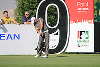 John Parry tees off on the 9th tee during Day 1 of the Dubai World Championship, Earth Course, Jumeirah Golf Estates, Dubai, 25th November 2010..(Picture Eoin Clarke/www.golffile.ie)