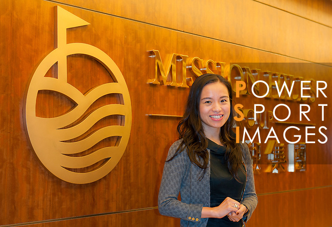 Dr. Catherine Chu, Executive Director, Mission Hills Group and Mission Hills International Education Limited poses at Mission Hills offices on November 21, 2014 in Hong Kong, China. Photo by Xaume Olleros / Power Sport Images