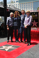 Bob Tuschman, Susie Fogelson, Brooke Johnson at the Bobby Flay Hollywood Walk of Fame Ceremony, Hollywood, CA 06-02-15<br /> David Edwards/DailyCeleb.com 818-249-4998
