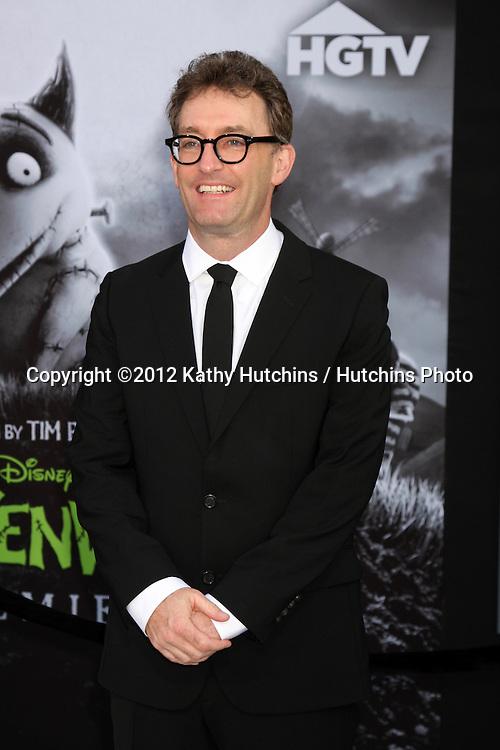 "LOS ANGELES - SEP 24:  Tom Kenny arrives at the ""Frankenweenie"" Premiere at El Capitan Theater on September 24, 2012 in Los Angeles, CA"