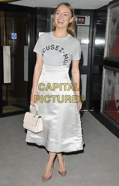 LONDON, ENGLAND - MARCH 16: Laura Haddock attends the &quot;Dior and I&quot; UK film premiere, Curzon Mayfair cinema, Curzon St., on Monday March 16, 2015 in London, England, UK. <br /> CAP/CAN<br /> &copy;CAN/Capital Pictures