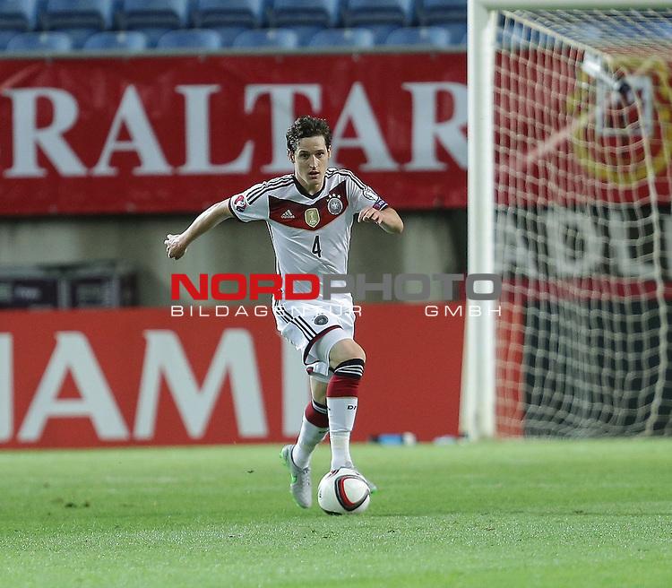 EM 2015 Qualifikationsspiel, Gibraltar vs. Deutschland<br /> Sebastian Rudy (Deutschland)<br /> <br /> <br /> Foto &copy; nordphoto /  Bratic