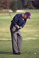 Washington DC., USA, 1991<br /> President George H.W. Bush on the golf course. Credit: Mark Reinstein/MediaPunch