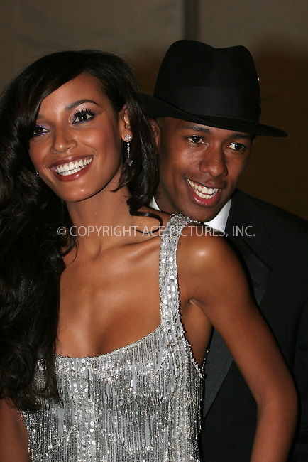 WWW.ACEPIXS.COM . . . . .  ....May 7 2007, New York City....Nick Cannon, Selita Ebanks....Costume Institute at the Metropolitain Museum Gala 2007 exits.....Please byline: NANCY RIVERA- ACE PICTURES.... *** ***..Ace Pictures, Inc:  ..tel: (646) 769 0430..e-mail: info@acepixs.com..web: http://www.acepixs.com