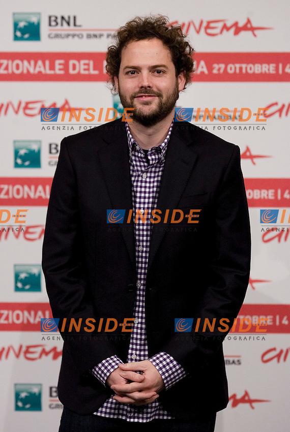 Drake Doremus..FESTIVAL INTERNAZIONALE DEL CINEMA DI ROMA. ..ROMA CINEMA FEST. ..Like Crazy  - Photo Call ..Roma, 29 Ottobre 2011 ..Photo Serena Cremaschi Insidefoto