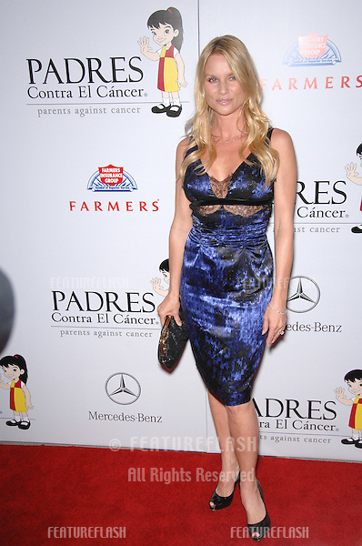 Desperate Housewives star Nicollette Sheridan at a fund-raising gala to benefit Padres Contra El Cåncer (parents against cancer) at The Lot, Hollywood..October 19, 2007  Los Angeles, CA.Picture: Paul Smith / Featureflash