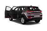 Car images close up view of a 2018 Hyundai Tucson Premium 5 Door SUV doors