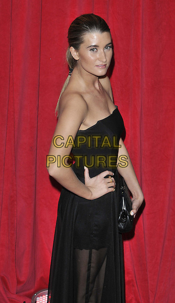 LONDON, ENGLAND - MAY 24: Charley Webb attends the British Soap Awards 2014, Hackney Empire, Mare St., on Saturday May 24, 2014 in London, England, UK.<br /> CAP/CAN<br /> &copy;Can Nguyen/Capital Pictures
