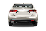 Straight rear view of 2016 Toyota Avalon XLE 4 Door Sedan Rear View  stock images