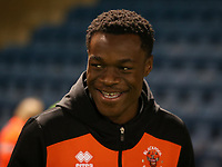 Blackpool's Marc Bola arrives at todays match<br /> <br /> Photographer Rachel Holborn/CameraSport<br /> <br /> The EFL Sky Bet League One - Gillingham v Blackpool - Tuesday 6th November 2018 - Priestfield Stadium - Gillingham<br /> <br /> World Copyright &copy; 2018 CameraSport. All rights reserved. 43 Linden Ave. Countesthorpe. Leicester. England. LE8 5PG - Tel: +44 (0) 116 277 4147 - admin@camerasport.com - www.camerasport.com
