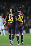 2012-10-23-FC Barcelona vs Celtic: 2-1 - Champions League 2012/13-Game: 3
