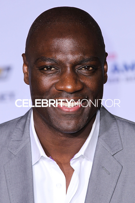 "HOLLYWOOD, LOS ANGELES, CA, USA - MARCH 13: Adewale Akinnuoye-Agbaje at the World Premiere Of Marvel's ""Captain America: The Winter Soldier"" held at the El Capitan Theatre on March 13, 2014 in Hollywood, Los Angeles, California, United States. (Photo by Xavier Collin/Celebrity Monitor)"