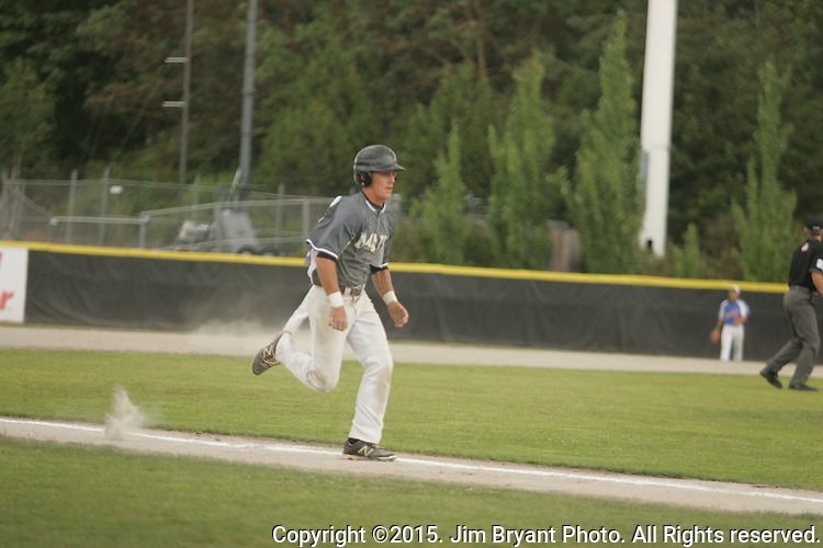 Hawaii vs. NCA in game 4 of the 2015 West Central District 2 BLBB playoffs at Blue Jacket Stadium in Silverdale Washington. ©2015. Jim Bryant photo. All Rights Reserved.