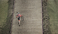 up the 44 steps<br /> <br /> Grand Prix Adrie van der Poel, Hoogerheide 2016<br /> UCI CX World Cup