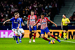 Rodrigo Cascante of Atletico de Madrid (R) in action during the La Liga 2018-19 match between Atletico de Madrid and Athletic de Bilbao at Wanda Metropolitano, on November 10 2018 in Madrid, Spain. Photo by Diego Gouto / Power Sport Images