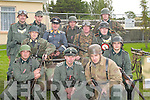 DRESSED: Dressed up in their World War II German uniforms at the Ardfert Summer Festival on Sunday were. Stephen Alge, Glenn Pollack, Mark O'Loughlin, Mike Buchanan, Tony O'Halloran, David Llyod, Justin Horgan, Dermot Walsh, Joe O'Toole, Shane De Barra, Johnny Boynard and Seamus Burns..