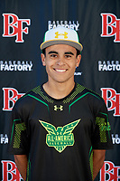 Angel Torres during the Under Armour All-America Tournament powered by Baseball Factory on January 17, 2020 at Sloan Park in Mesa, Arizona.  (Mike Janes/Four Seam Images)