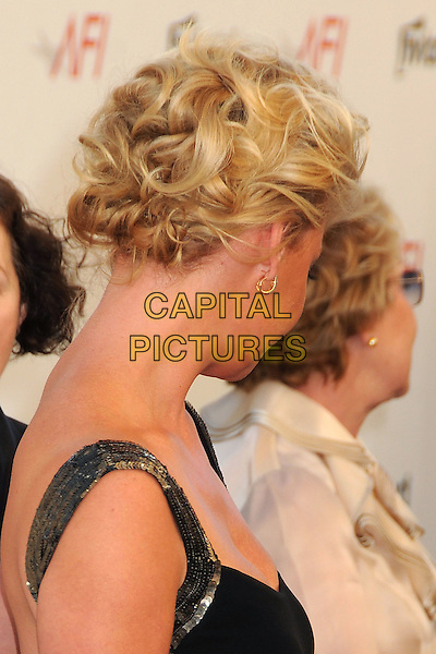Katherine Heigl.40th Annual AFI Life Achievement Award Honoring Shirley MacLaine held at Sony Pictures Studios, Culver City, California, USA..June 7th, 2012.headshot portrait black gold sequins sequined hair up twists curls .CAP/ADM/BP.©Byron Purvis/AdMedia/Capital Pictures.