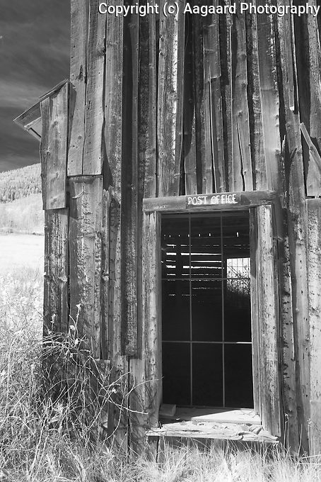 Ashcroft is an old mining ghost town about 10 miles south of Aspen.  Many of its buildings have been preserved.