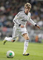 Real Madrid's Fabio Coentrao during King's Cup match. January 15, 2013. (ALTERPHOTOS/Alvaro Hernandez) /NortePhoto