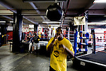 Phillip Jackson-Benson of South Jamaica, Queens, is 21 years old and has been boxing for 3 years. He fought last year in the Golden Gloves but lost in a 2nd round split decision..Gleason's Gym has continued its long standing tradition in the boxing world as a training ground of competitors by putting 5 fighters into the finals of the 2006 Golden Gloves amateur boxing competition.. An inside look at the last 10 days of training for the 5 young fighters.