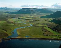 S&aelig;varland, Svalbar&eth;shreppur s&eacute;&eth; til su&eth;urs /<br /> Saevarland, Svalbardshreppur viewing south