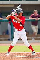 Albert Almora #6 of Babe Ruth at bat against AABC at the 2011 Tournament of Stars at the USA Baseball National Training Center on June 26, 2011 in Cary, North Carolina.  Babe Ruth defeated AABC 3-2 in the Gold Medal game. (Brian Westerholt/Four Seam Images)