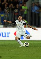 Thursday 29 August 2013<br /> Pictured: Leon Britton.<br /> Re: Petrolul Ploiesti v Swansea City FC UEFA Europa League, play off round, 2nd leg, Ploiesti, Romania.