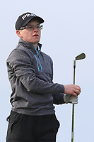 David Kitt (Athenry) on the 4th tee during Round 3 of The West of Ireland Open Championship in Co. Sligo Golf Club, Rosses Point, Sligo on Saturday 6th April 2019.<br /> Picture:  Thos Caffrey / www.golffile.ie
