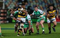 Waisake Naholo of Taranaki during the Mitre 10 Cup Ranfurly Shield Rugby Match between Taranaki and Manawatu at Yarrow Stadium, New Plymouth, Auckland,  New Zealand. Wednesday 11th October 2017. Photo: Simon Watts / www.bwmedia.co.nz