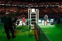 ABNAMRO World Tennis Tournament, 14 Februari, 2018, Rotterdam, The Netherlands, Ahoy, Tennis, Robin Haase (NED), Thiemo de Bakker (NED)<br /> <br /> Photo: www.tennisimages.com