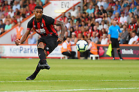 Jordon Ibe of AFC Bournemouth takes free kick during AFC Bournemouth vs Real Betis, Friendly Match Football at the Vitality Stadium on 3rd August 2018