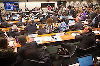 BRASILIA, DF, 24.11.2015 - ÉTICA-REUNIÃO - Sessão do Conselho de Ética da Câmara, em desfavor do presidente da Câmara, deputado Eduardo Cunha, nesta terça-feira, 24. (Foto:Ed Ferreira / Brazil Photo Press)