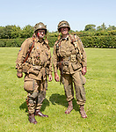 Stonham Barns History Alive event, Living History,  Suffolk, England, UK 2019