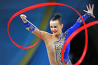 August 29, 2013 - Kiev, Ukraine - ANNA RIZATDINOVA of Ukraine performs at 2013 World Championships.