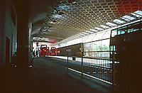 London:  Jubilee Line, Canada Water Station--surface Bus Terminal.  Photo 2005.