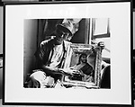 copy of a mounted print of one of yje pictures from my exhibit of images from Civil Rights Movement circa 1965-1968, copied at my apartment, in Saugerties, NY, on Thursday, January 14, 2016. Photo by Jim Peppler. Copyright Jim Peppler 2016.
